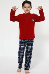 Akbeniz WelSoft Polar Erkek Çocuk Pijama Takımı 4521
