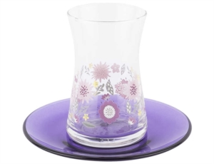 Tantitoni 12 Parça Mor Blossom Çay Takımı- HARE 42361MBL