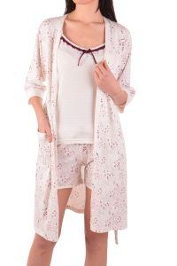 Nicoletta Kadın Şortlu Pijama Takım Sabahlık