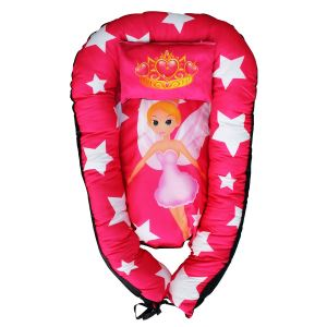 Barbie Baskılı Fuşya BabyNest