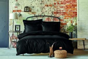 Karaca Home Charm Bold Siyah Çift Kişilik Yatak Örtüsü Set
