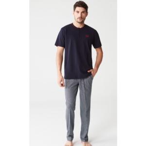 Mod 3231 Erkek Pijama Takımı Lacivert