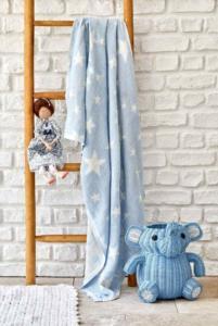 Karaca Home Baby Star Mavi Bebek Pikesi