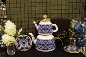 Beyler Vintage Çaydanlık Ve Çay Seti Osmanlı