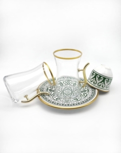 Özcam Kristal 18 Parça Çay Takımı D-1520