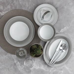 Güral Porselen 84 Parça Yuvarlak Tolstoy Bantlı Yemek Takımı 5437