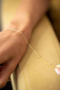 Toplu Model Altın Kaplama Gümüş Bileklik