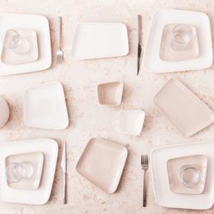 Karaca Naomi Cream 26 Parça 6 Kişilik Kahvaltı Seti