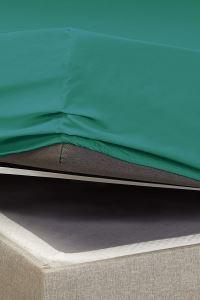 Battal Boy %100 Pamuklu Penye Lastikli Çarşaf | Yeşil