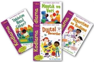 Temel Kodlama Eğitimi Serisi (4 Kitap Takım)-Elbrie De Rock
