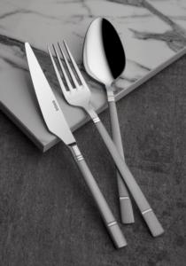 Onon Boğaziçi 84 Parça Saten Çatal Kaşık Bıçak Takımı Kutulu Set