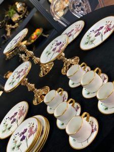 Asaf Çay Fincan Seti 6 lı Orkide