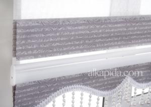 Sena Home ZP 6202 Stor Zebra Perde İncili