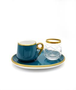 Özcam Kristal 18 Parça 6 Kişilik Kahve Takımı- D-1717