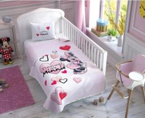 Taç 3576 Lisanslı Bebek Pike Takımı Minnie Mouse Sweet Baby