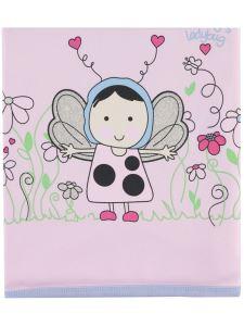 Kujju Kız Bebek Puantıye Battaniye 80x90 Pembe