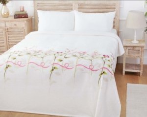 Özdilek Tek Kişilik Soft Baskılı Battaniye PVC Pamela