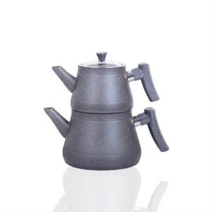 Bayev Bakalit Saplı Granit Çaydanlık 200470 -Gri