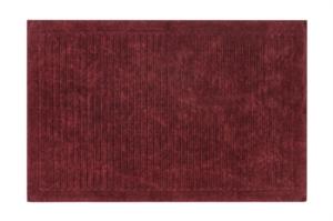 Alanur Mikonos Eskitme Bordo Cotton Halı