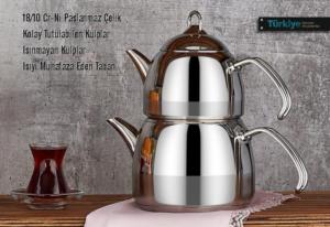 Falez Dem Aile Boy Çaydanlık Seti DEM 3005