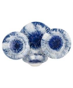 Acar 24 Parça Aqua Porselen Yemek Takımı
