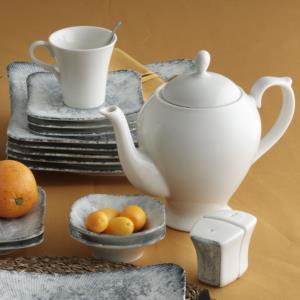 Güral Porselen 36 Parça Spinoza Bone Kahvaltı Takımı Reaktif 511