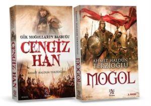 Cengiz Han Seti (2 Kitap Takım)-Ahmet Haldun Terzioğlu