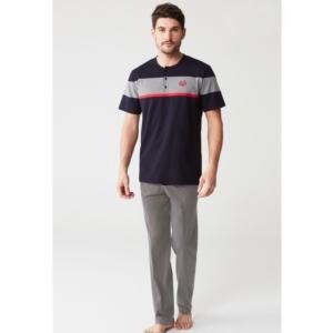 Mod Collection 3234 Erkek Pijama Takımı Lacivert