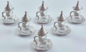 Sena Telkari Çay Bardağı 6'lı Kutulu 195-K-11