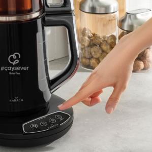 Karaca Çaysever Robotea Chrome Çay Makinesi