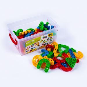 Dede Clıck Clack Puzzle Küçük Box (96 Prç)