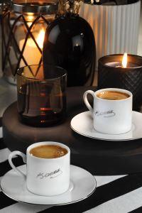Kütahya Porselen Atatürk İmzalı Kahve Takımı