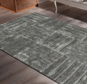 Lalee Halı Ligne Collection Olymp OLY 551 Silver