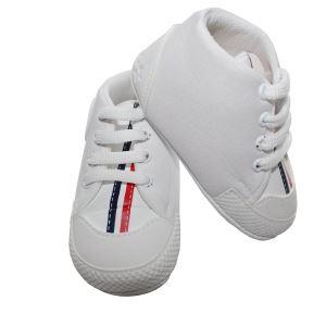 Laci Kırmızı Çizgili Erkek Bebek Ayakkabı