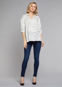 4M Moda İndigo Kadın Mavi Dar Paça Hamile Pantolon