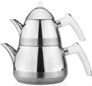 Taç Casablanca Çaydanlık - Beyaz