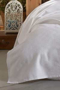 %100 Pamuk Battal Boy Yatak Örtüsü 240x240 | Darcy