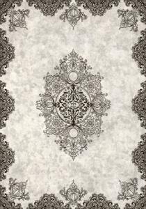 Decovilla Halı Sultan Serisi Siyah 11046-103