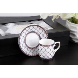 Gönül Porselen Kahve Fincan Takımı G2154
