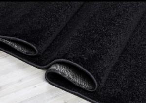 Koza Halı Essence Modern Kesme Halı- Siyah
