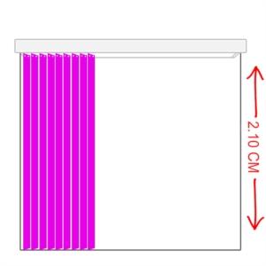 Sena Home Yeni Nesil 2.10 Metre Dikey Zebra Perde SHDZP013