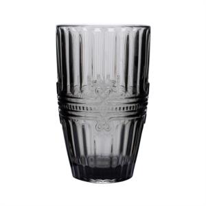 Karaca Twist Cam Meşrubat Bardağı Gri