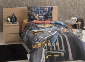 Özdilek Tek Kişilik Lisanslı Sarı Batman Kapitone Set