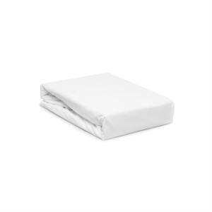 Gecce Tek Kişilik 100x200 Sıvı Geçirmez Alez Fitted Çarşaflı Beyaz