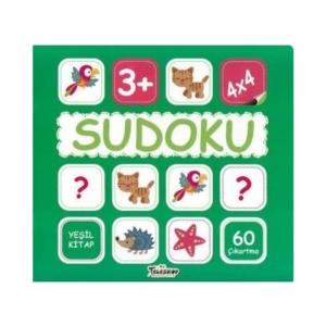 Sudoku 4x4 - Yeşil Kitap-Kollektif