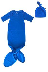 Banndu Düğümlü Tulum ve Şapka Takımı - Mavi
