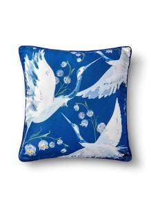 Leylek Yastık - Koyu Mavi 50 x 50cm