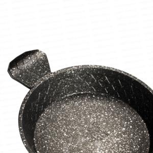 Nehir Diamond Gümüş Renk 3 Parça Alüminyum Döküm Sahan Set