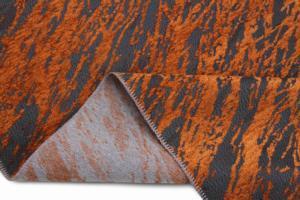 Sanart Kaymaz Sensitive Dijital Dokuma Kilim 25276A Orange