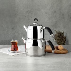 Nehir Modern Mini Çaydanlık Takımı